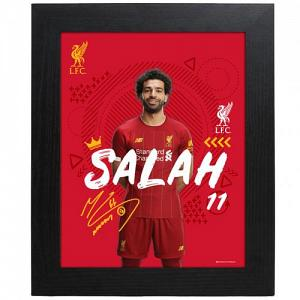 Liverpool FC Picture Salah 10 x 8 1