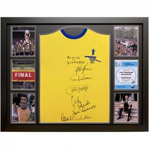 Arsenal FC 1971 Double Winners Signed Shirt (Framed) 2