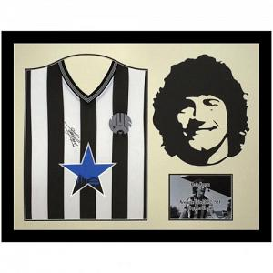 Newcastle United FC Keegan Signed Shirt Silhouette 1