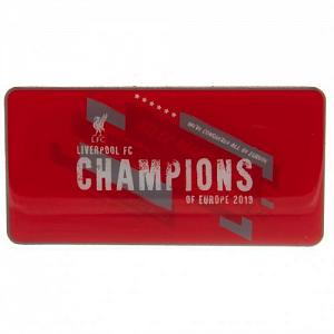 Liverpool FC Champions Of Europe Fridge Magnet 1