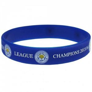 Leicester City FC Silicone Wristband Champions 1