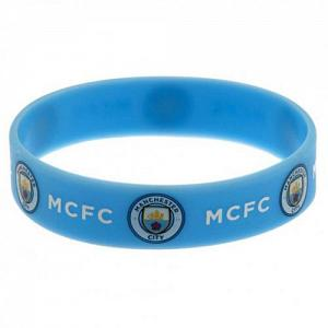 Manchester City FC Silicone Wristband 1