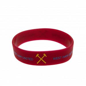 West Ham United FC Silicone Wristband 1