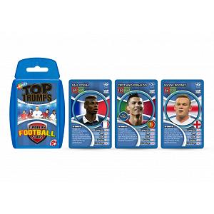 Euro Football Stars Top Trumps 2
