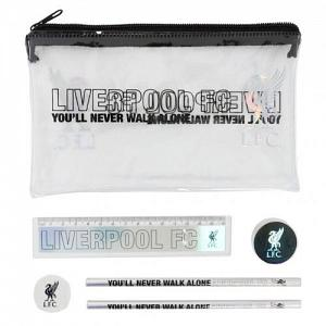 Liverpool FC Black & Silver Stationery Set 1