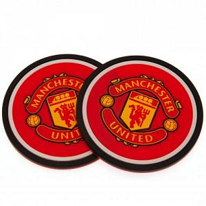 Manchester United FC 2pk Coaster Set 1