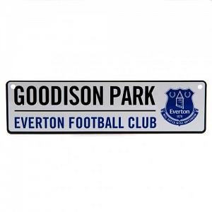 Everton FC Window Sign 1