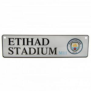Manchester City FC Window Sign 1