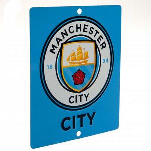 Manchester City FC Window Sign SQ 1