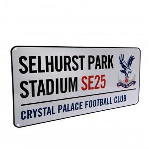 Crystal Palace FC Street Sign 1