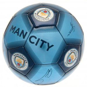 Manchester City FC Football Signature 1