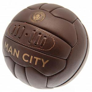 Manchester City FC Retro Heritage Football 1