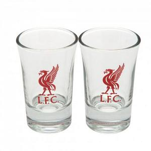 Liverpool FC Shot Glass Set - 2 Pack 1