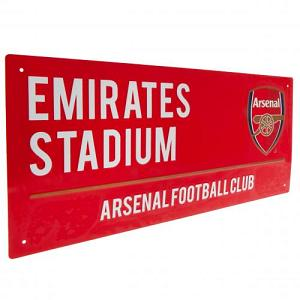 Arsenal FC Street Sign RD 1