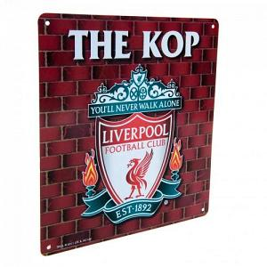 Liverpool FC Sign - The Kop 1