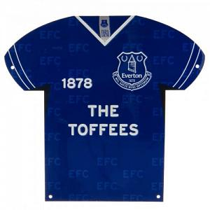 Everton FC Metal Shirt Sign 1