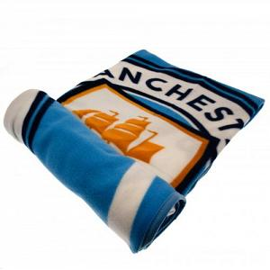 Manchester City FC Fleece Blanket 1