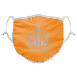 Newcastle United FC Reflective Face Covering Orange 1