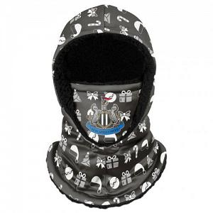 Newcastle United FC Christmas Hooded Snood 1