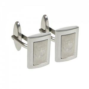 Everton FC Cufflinks - Stainless Steel - Framed 1