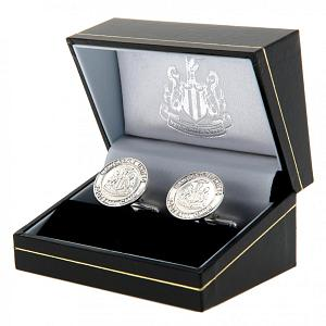 Newcastle United FC Sterling Silver Cufflinks 1