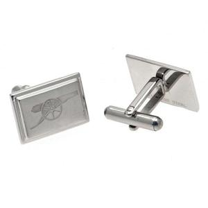 Arsenal FC Cufflinks - Stainless Steel - Gunners 1