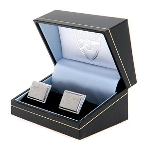 Arsenal FC Cufflinks - Stainless Steel - Gunners 2