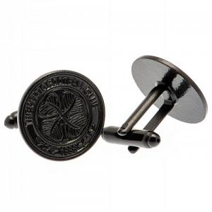 Celtic FC Black IP Cufflinks 1