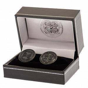 Celtic FC Black IP Cufflinks 2