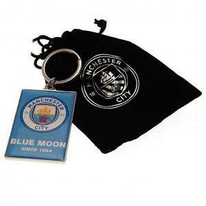 Manchester City FC Deluxe Keyring 1