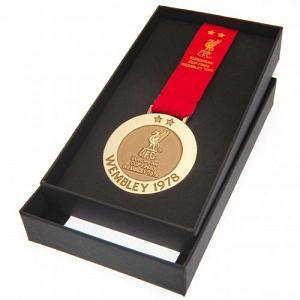 Liverpool FC Wembley 78 Replica Medal 1