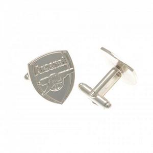 Arsenal FC Cufflinks - Crest - Silver Plated 1