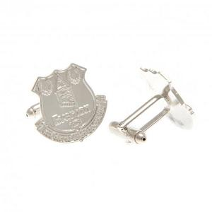 Everton FC Silver Plated Formed Cufflinks 1