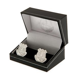 Everton FC Silver Plated Formed Cufflinks 2