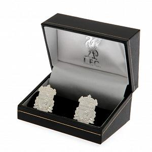 Liverpool FC Silver Plated Formed Cufflinks 1