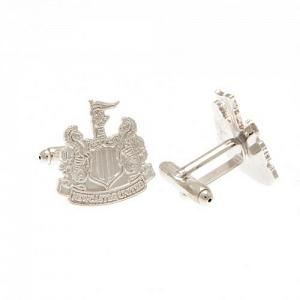 Newcastle United FC Silver Plated Formed Cufflinks 2
