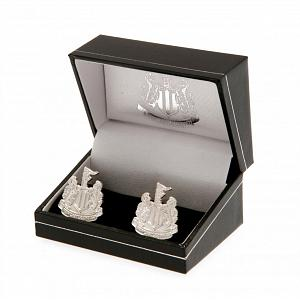 Newcastle United FC Silver Plated Formed Cufflinks 1