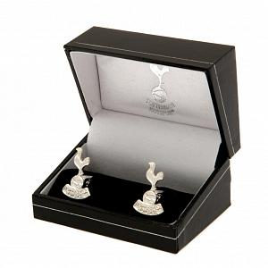 Tottenham Hotspur FC Silver Plated Formed Cufflinks 1