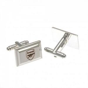Arsenal FC Cufflinks - Silver Plated 1