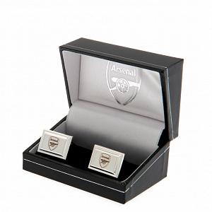Arsenal FC Cufflinks - Silver Plated 2