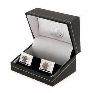 Celtic FC Silver Plated Cufflinks 2