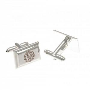 Chelsea FC Cufflinks - Silver Plated 1