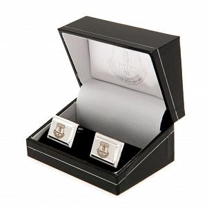Everton FC Silver Plated Cufflinks 1
