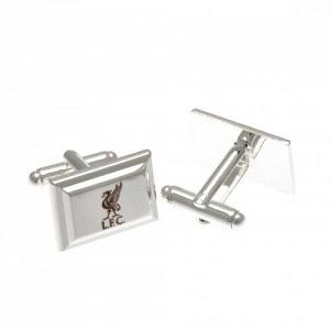Liverpool FC Cufflinks - Silver Plated 1