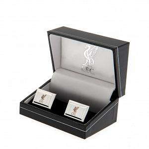 Liverpool FC Cufflinks - Silver Plated 2