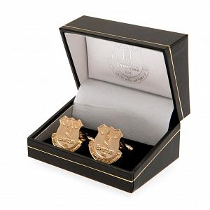 Everton FC Gold Plated Cufflinks 2