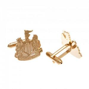 Newcastle United FC Gold Plated Cufflinks 2