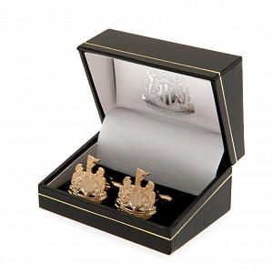 Newcastle United FC Gold Plated Cufflinks 1