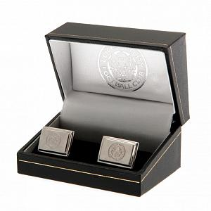 Leicester City FC Cufflinks - Stainless Steel 1