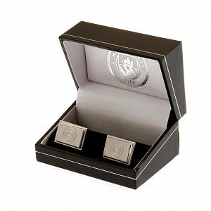 Manchester City FC Cufflinks - Stainless Steel 2